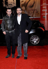 Ger Leonard and John Lynch at the premiere of