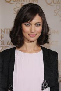 Olga Kurylenko at the Paris premiere of