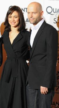 Olga Kurylenko and Director Marc Forster at the photocall of