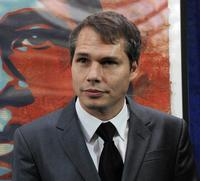 Shepard Fairey at the National Portrait Gallery in Washington.