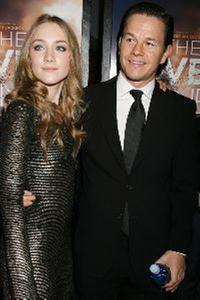 Saoirse Ronan and Mark Wahlberg at the Special New York screening of