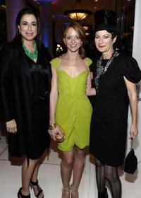 Roma Maffia, Jayma Mays and Mona May at the 12th Annual Costume Designers Guild Awards.