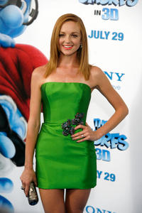Jayma Mays at the world premiere of