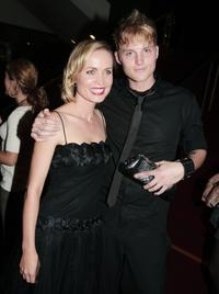 Radha Mitchell and Toby Hemingway at the premiere of