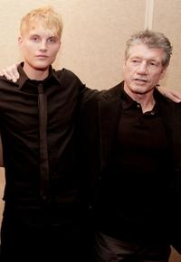 Toby Hemingway and Fred Ward at the premiere of