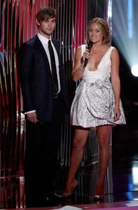 Chace Crawford and Lauren Conrad at the 2008 MTV Video Music Awards.