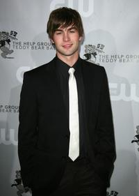 Chace Crawford at the Help Group's Teddy Bear Ball.