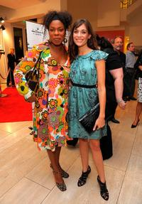 Lorraine Toussant and Kathleen Munroe at the world premiere screening of