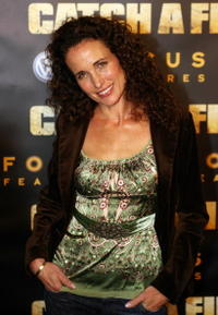 Andie MacDowell at the premiere of