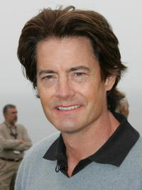 Kyle MacLachlan at the 8th annual Michael Douglas and Friends Golf Tournament presented by Lexus at the Trump National Golf Club.