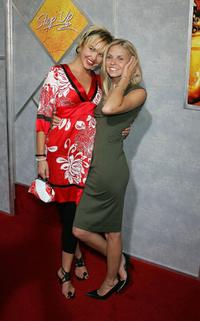 Arielle Kebbel and Nikki Griffin at the premiere of