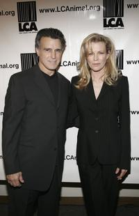 Kim Basinger and Chris DeRose at the premiere of