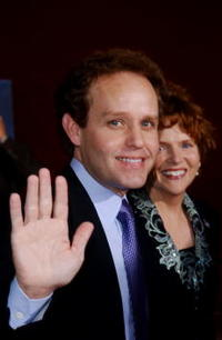 Peter MacNicol at the 53rd Annual Primetime Emmy Awards.