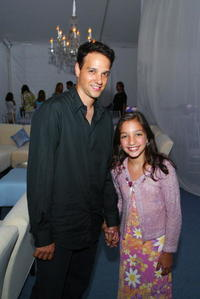 Ralph Macchio and Julie Macchio at the afterparty for the Southampton premiere of