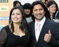 Maria Goretree and Arshad Warsi at the International Indian Film Academy Awards (IIFAs) ceremony.