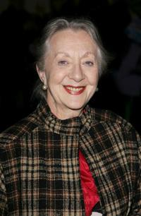 Thelma Barlow at the premiere of