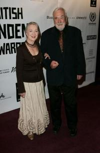 Thelma Barlow and Guest at the British Independent Film Awards.