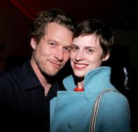 James Tupper and Kate Mayfield at the A Work In Progress: An Evening With James Mangold.