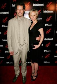 James Tupper and Anne Heche at the Entertainment Weekly and Vavoom's Network Upfront party.