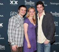 Jason Ritter, Jess Weixler and director Jay DiPietro at the premiere of