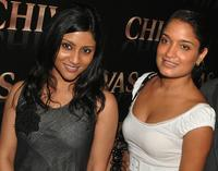 Konkona Sen Sharma and Sandhya Mridul at the Chivas promotional event.