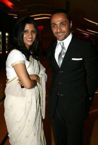 Konkona Sen Sharma and Rahul Bose at the premiere of