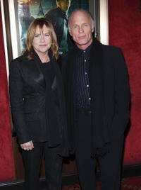 Amy Madigan and Ed Harris at the premiere of
