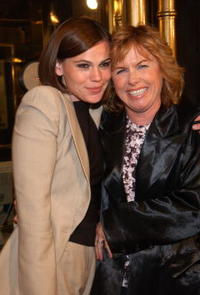 Amy Madigan and Clea Duvall at the premiere of