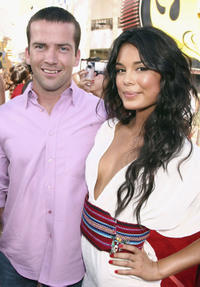 Lucas Black and Nathalie Kelley at the California premiere of