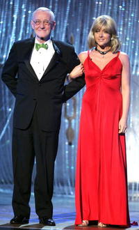 John Mahoney and Jane Krakowski at the 61st Annual Tony Awards at Radio City Music Hall.