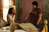 Brenda (Angela Bassett) and Cora Brown (Tamela Mann) in
