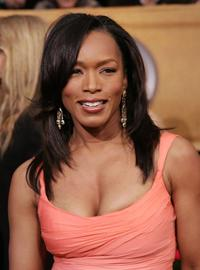 Angela Bassett at the 12th Annual Screen Actors Guild Awards.