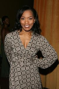 Angela Bassett at the dramatized audio recording of
