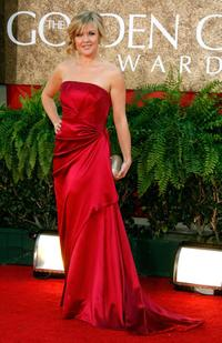 Ashley Jensen at the 64th Annual Golden Globe Awards.