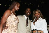 Venus Williams, Jackie Long and Serena Williams at the premiere of