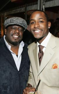 Cedric and Jackie Long at the premiere of