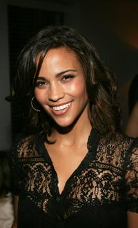 Paula Patton at the M.A.C Cosmetics