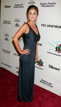 Amanda Brooks at the Children Uniting Nations 9th annual awards celebration and viewing dinner.