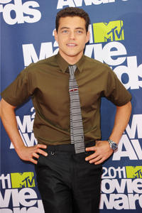 Rami Malek at the 2011 MTV Movie Awards in California.