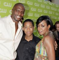 Terry Crews, Tyler James Williams and Tichina Arnold at the CW Network's Affiliate Launch party.