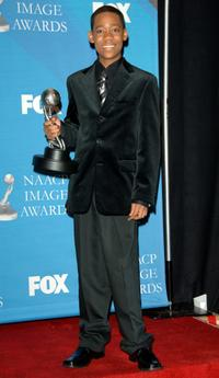 Tyler James Williams at the 38th annual NAACP Image Awards.