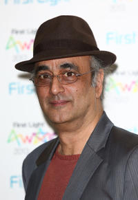 Art Malik at the First Light Awards in London.