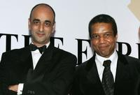 Art Malik and Hugh Quarshie at the Press Association Annual Awards.