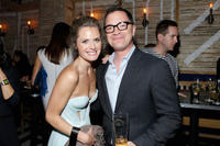 Maggie Lawson and Joshua Malina at the Entertainment Weekly & ABC-TV Upfronts Party.