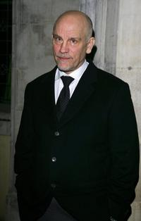 John Malkovich at the after party following the world premiere of