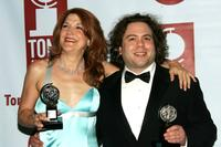 Victoria Clark and Dan Fogler at the 59th Annual Tony Awards.