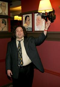 Dan Fogler at the Outer Critics Circles Awards.