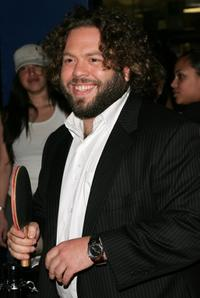 Dan Fogler at the Planet Hollywood Times Square to promote