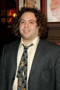 Dan Fogler at the Outer Critics Circles Award reception.