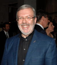 Leonard Maltin at the AFI's 40th Anniversary Celebration Lunch at the Beverly Wilshire Hotel.